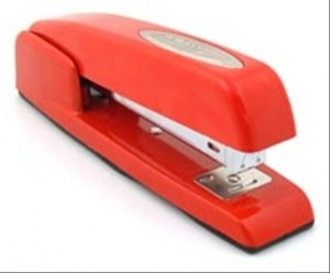 The office stapler - a high risk instrument